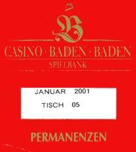 Permanenzen Baden Baden